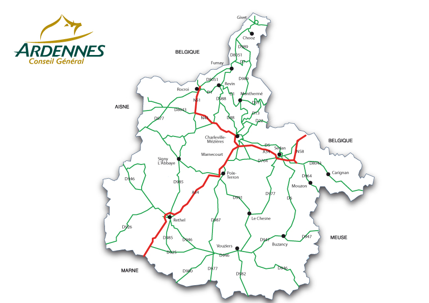 Routes départementales | cd08.fr : Le site officiel des Ardennes