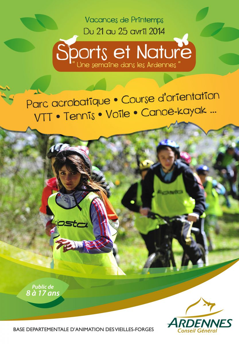 Stage sports et Nature, printemps 2014
